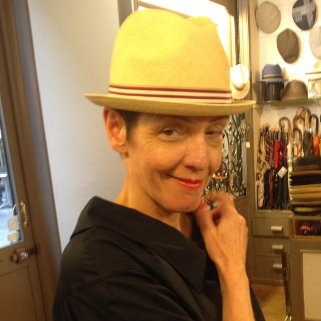 Hüte aus Stroh