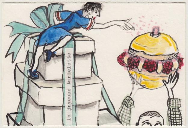 Postkarte an Brian Joyeux