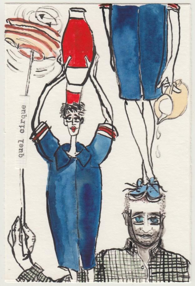 Postkarte an Frederica Wijckmans